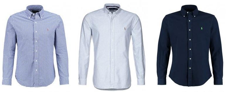 36 forskellige Ralph Lauren Skjorter